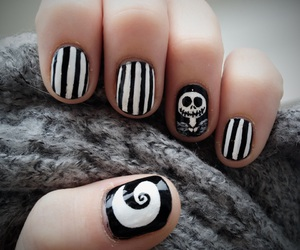 nails, black, and jack image