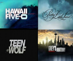 greys anatomy, pretty little liars, and teen wolf image