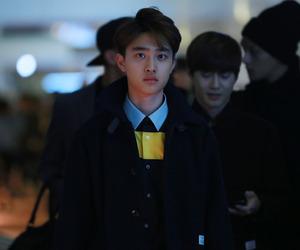 exo, fashion, and kyungsoo image