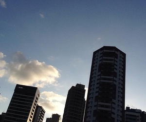 brazil, clouds, and buildings image