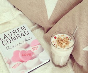 book, food, and lauren conrad image
