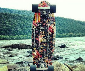 flowers, forest, and hipster image