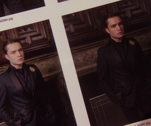 chuck bass, gossip girl, and ed westwich image