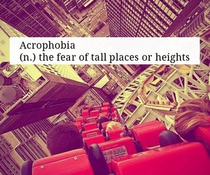 awesome, heights, and phobia image