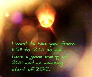 2012, kiss, and new year image