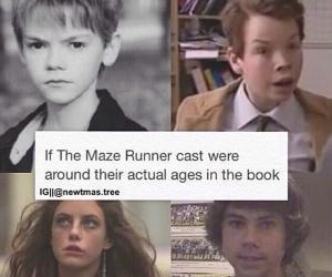 the maze runner, thomas, and maze runner image