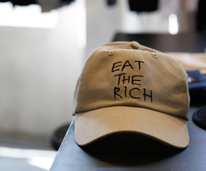 fashion, hat, and eat the rich image