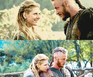 vikings, lagertha, and travis fimmel image