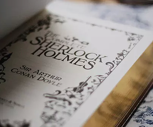 book, sherlock holmes, and sherlock image