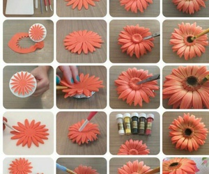 craft, diy, and sun flower image