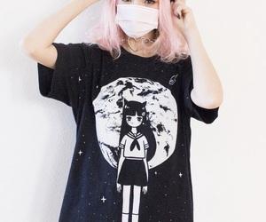 kawaii, anime, and pink image