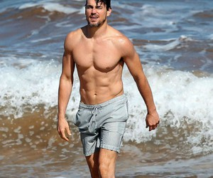 actor, beach, and famous image