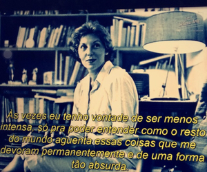 frase, sentimento, and clarice lispector image