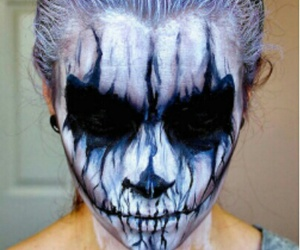 make up and Halloween image