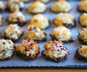 coconut, Cookies, and macaroons image
