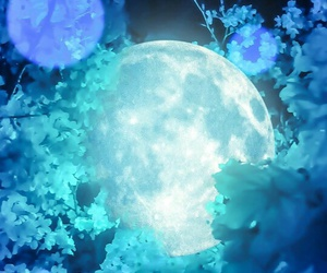 blue and moon image