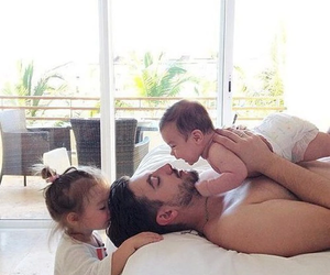 aww, baby, and family image