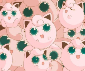 pokemon, pink, and jigglypuff image