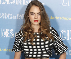 cara delevingne, model, and paper towns image