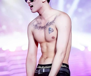 abs, asian, and eunhyuk image