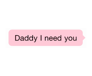 pink, daddy kink, and text image