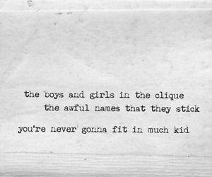 quote, radiohead, and creep image