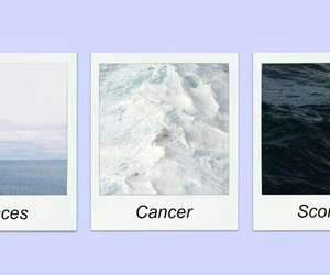 astrology, cancer, and photograph image
