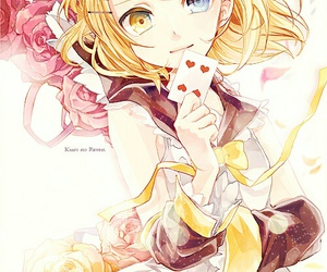 vocaloid, anime, and rin kagamine image