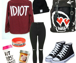 outfit, luke hemmings, and 5sos image