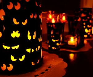 Halloween, spooky, and eyes of the night image