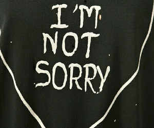 sorry, heart, and quotes image