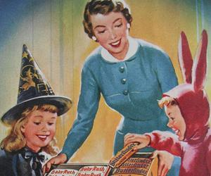 Halloween, vintage, and candy image