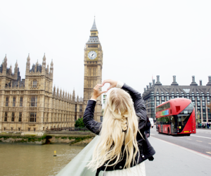 girl, london, and fashion image