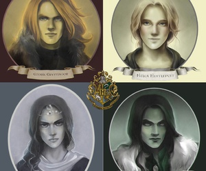 harry potter, hogwarts, and salazar slytherin image