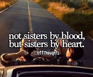 sisters and heart image