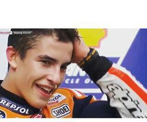 moto gp, marc marquez, and ​amor image