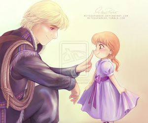 disney, frozen, and kristoff image