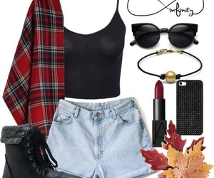 accesories, autumn, and black image