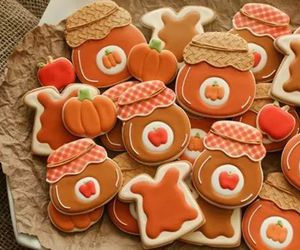 pumpkin and Cookies image
