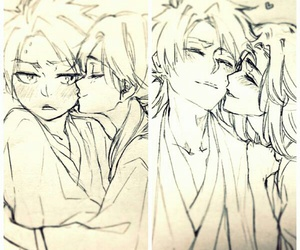 anime, manga couple, and bleach image