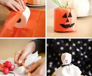 Halloween, diy, and pumpkin image