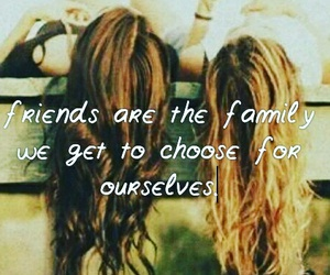 friendship, quote, and hair image