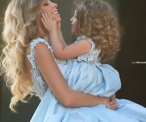 amazing, beautiful, and blue dress image