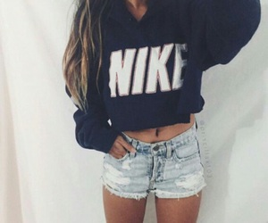 nike, fashion, and shorts image