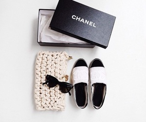 chanel, fashion, and shoes image