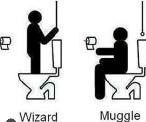 wizard, harry potter, and muggle image
