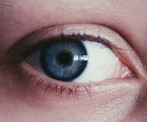 blue, eye, and girl image