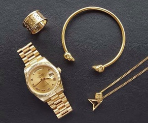 cool, fashion, and gold image
