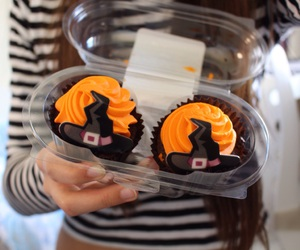 Halloween, cupcakes, and quality image