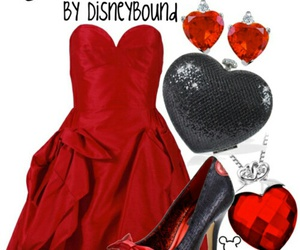 queen of hearts, alice in wonderland, and disney image